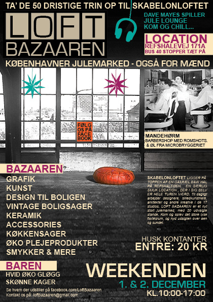 1.LOFT BAZAAREN flyer. Low res