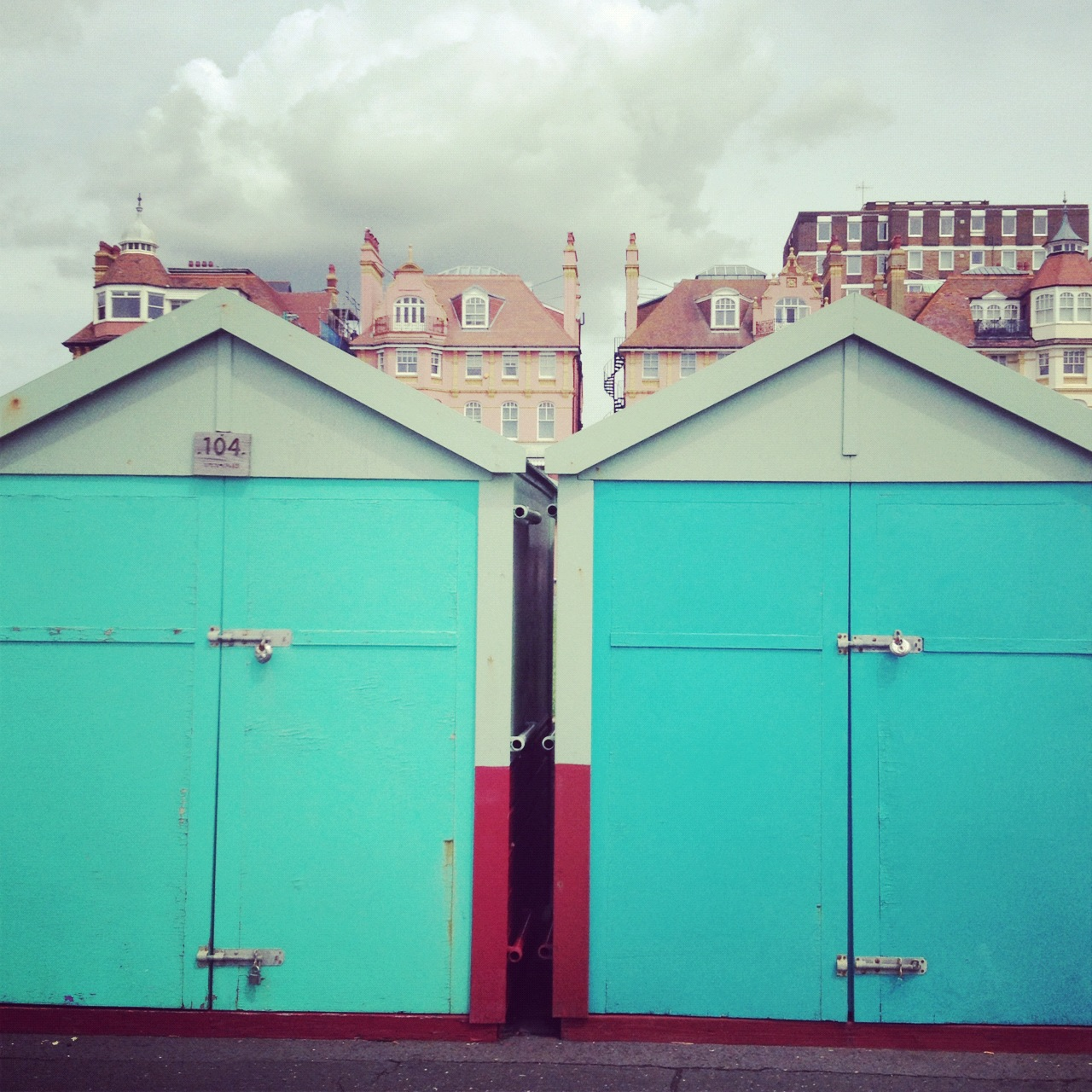 Brighton beachhouses