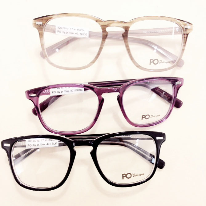 8c1c35e6485e PO by Profil Optik – ny brilleserie – Objects and Use